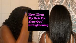 How to Blow-Out your Natural Hair